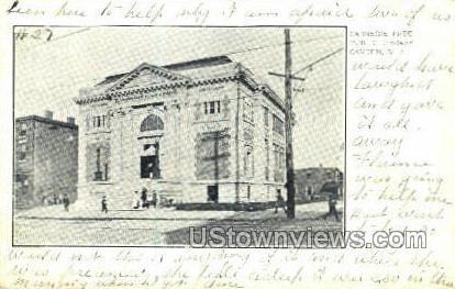 Carnegie Free Public Library  - Camden, New Jersey NJ Postcard