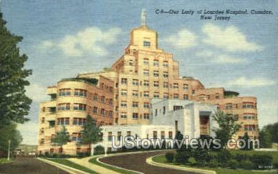 Our Lady Lourdes Hospital  - Camden, New Jersey NJ Postcard