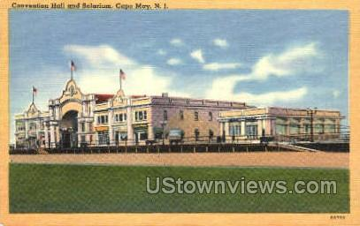 Convention Center  - Cape May, New Jersey NJ Postcard
