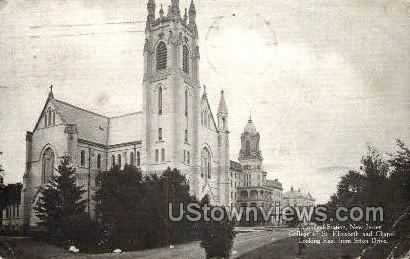 St Elizabeth Chapel - Convent Station, New Jersey NJ Postcard