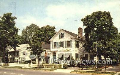 The Millian Pitt Inn Colonial Village  - Chatham, New Jersey NJ Postcard