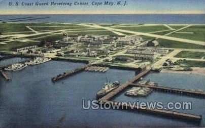 Us Coast Card Receiving Center  - Cape May, New Jersey NJ Postcard