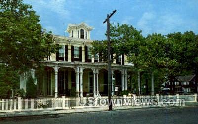 Victorian Mansion  - Cape May, New Jersey NJ Postcard