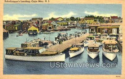 Schellengers Landing  - Cape May, New Jersey NJ Postcard