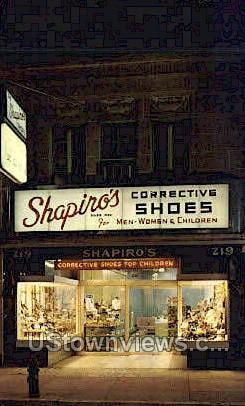 Shapiro'S Children'S Shoes  - Camden, New Jersey NJ Postcard