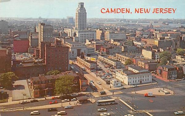 Camden New Jersey Postcard
