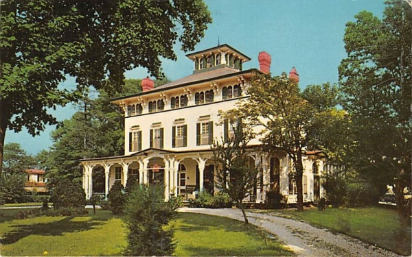 The Victorian House Cape May, New Jersey Postcard