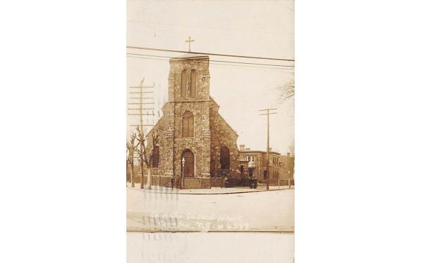 Church of the Sacred Heart Camden, New Jersey Postcard