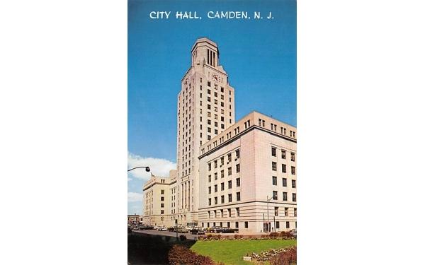 City Hall Camden, New Jersey Postcard