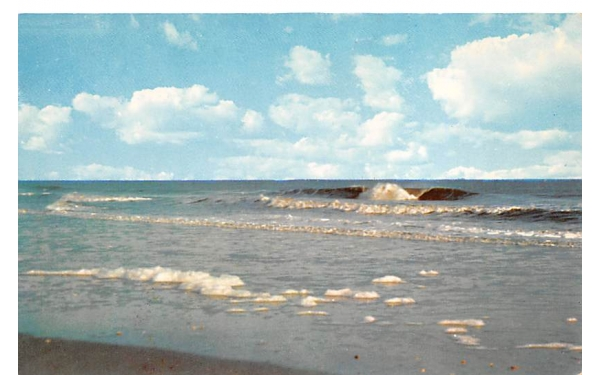 Rolling Surf Cape May, New Jersey Postcard
