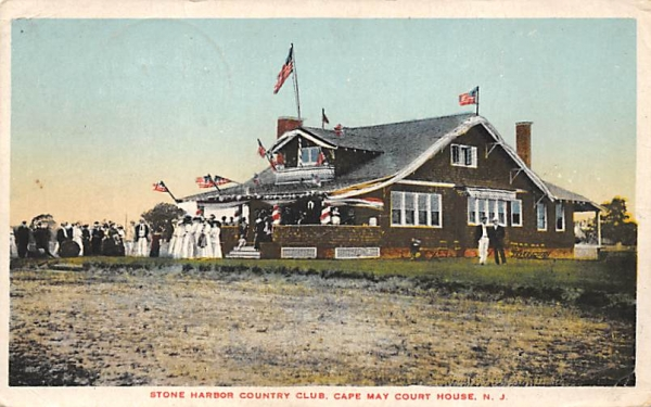 Stone Harbor Country Club Cape May, New Jersey Postcard