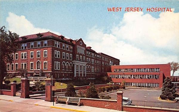 West Jersey Hospital Camden, New Jersey Postcard