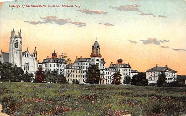 College of St. Elizabeth Convent Station, New Jersey Postcard