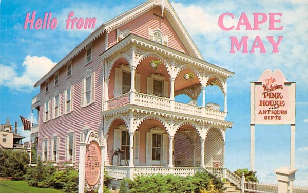 Hello from Cape May New Jersey Postcard