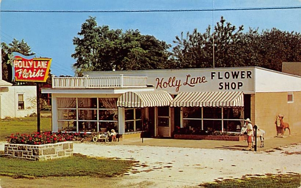 Holly Lane Flower Shop Cape May, New Jersey Postcard