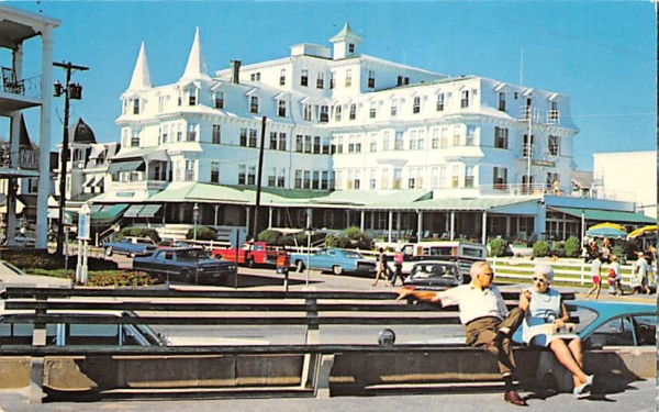 Example of Victorian Architecture Cape May, New Jersey Postcard