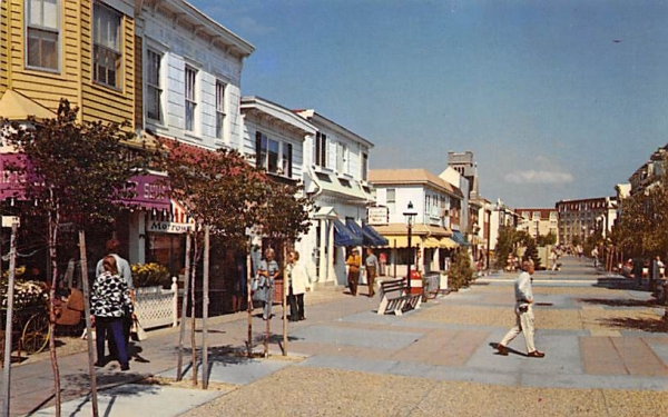 Victorian Village Shopping Mall Cape May, New Jersey Postcard