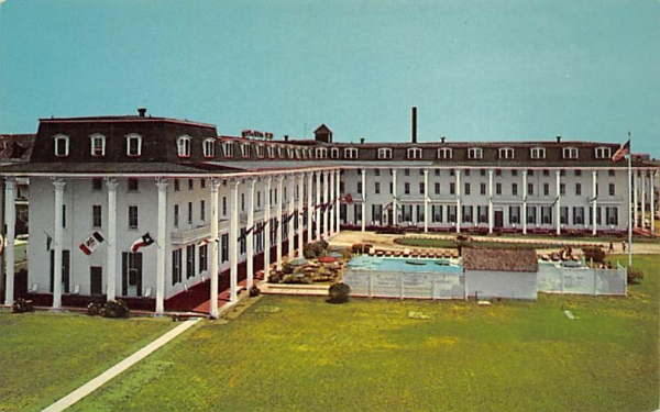 The Congress Hall Hotel Cape May, New Jersey Postcard
