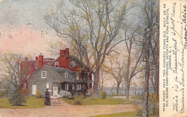 Pyne Poynt Camden, New Jersey Postcard