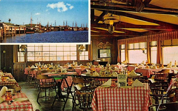 The Lobster House, Fisherman's Wharf Cape May, New Jersey Postcard
