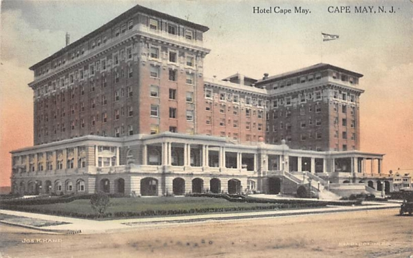 Hotel Cape May New Jersey Postcard