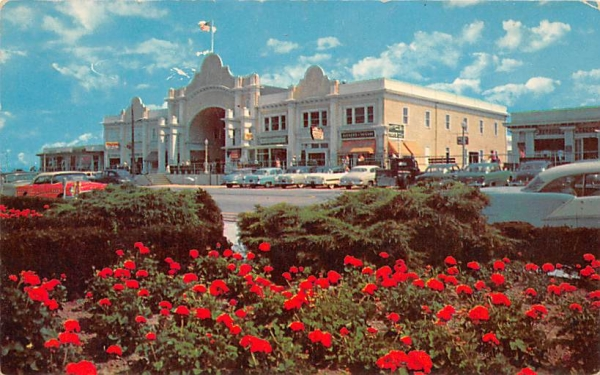Convention Hall Cape May, New Jersey Postcard