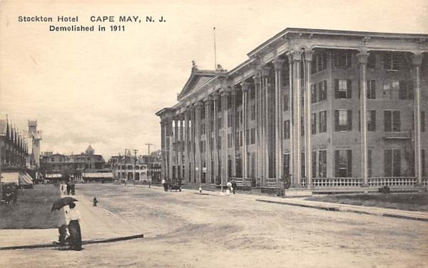 Stockton Hotel Cape May, New Jersey Postcard