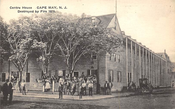 Centre House Cape May, New Jersey Postcard