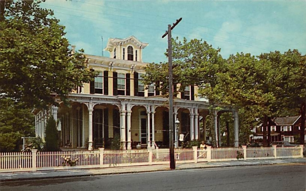 Victorian Mansion  Cape May, New Jersey Postcard