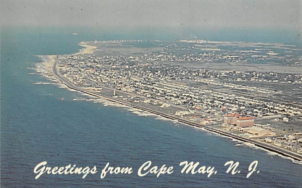 Greetings from Cape May, N. J., USA New Jersey Postcard