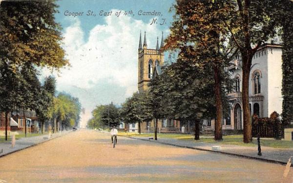 Cooper St. Camden, New Jersey Postcard