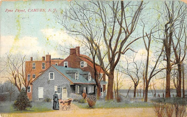 Pyne Paynt Camden, New Jersey Postcard