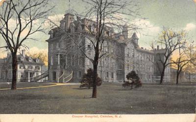 Cooper Hospital Camden, New Jersey Postcard