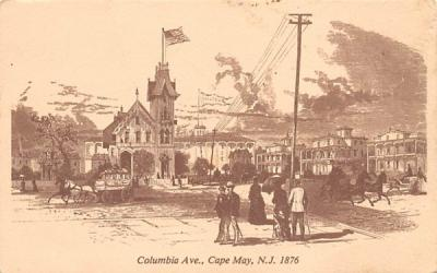 The McCreary House Cape May, New Jersey Postcard
