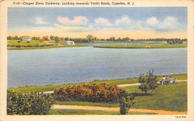 Cooper River Parkway Camden, New Jersey Postcard