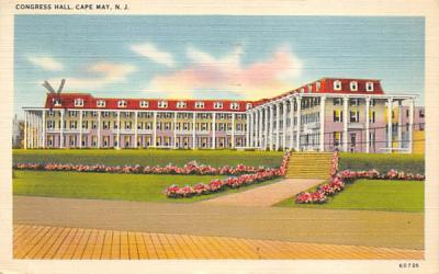 Congress Hall Cape May, New Jersey Postcard