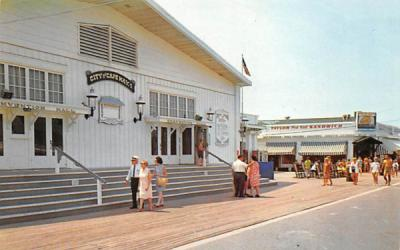 Convention Hall and Solarium Cape May, New Jersey Postcard