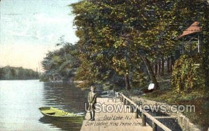 Deal Lake  - New Jersey NJ Postcard