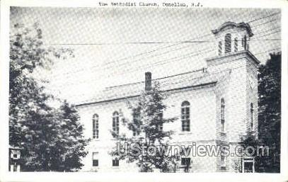 The Methodist Church  - Dunellen, New Jersey NJ Postcard