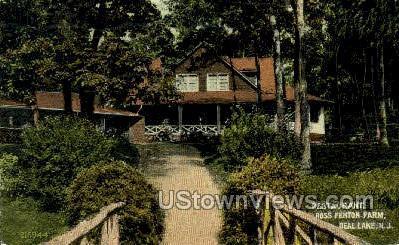 Restaurant Roses Fenton Farm  - Deal Lake, New Jersey NJ Postcard