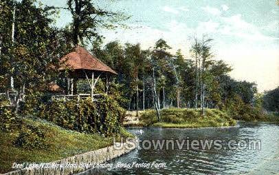 Ross Fenton Farm - Deal Lake, New Jersey NJ Postcard
