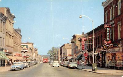 A View of Blackwell Street Dover, New Jersey Postcard