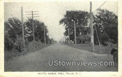 White Horse Pike  - Elwood, New Jersey NJ Postcard