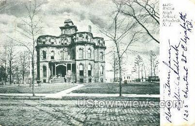 Battin High School - Elizabeth, New Jersey NJ Postcard