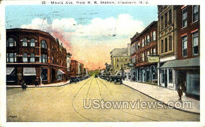 Morris Avenue  - Elizabeth, New Jersey NJ Postcard