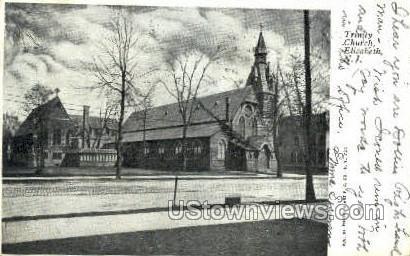 Trinity Church  - Elizabeth, New Jersey NJ Postcard