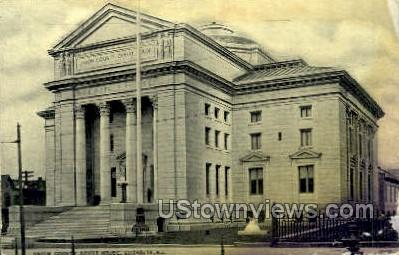 Union County Trust  - Elizabeth, New Jersey NJ Postcard