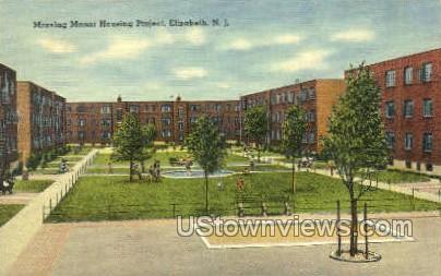 Mravlag Manor Housing Project - Elizabeth, New Jersey NJ Postcard