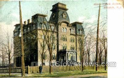 Orphan Asylum  - Elizabeth, New Jersey NJ Postcard