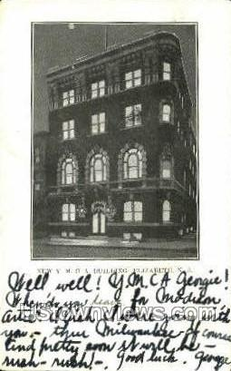 Ymca  - Elizabeth, New Jersey NJ Postcard